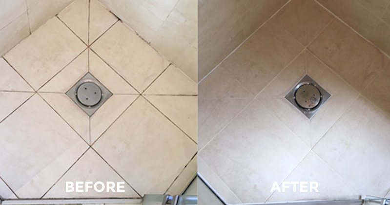 Canny Case Studies Tiles and Grout Before and After
